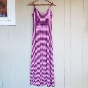 2/$13 Calvin Klein Size 2 Maxi Striped Dress